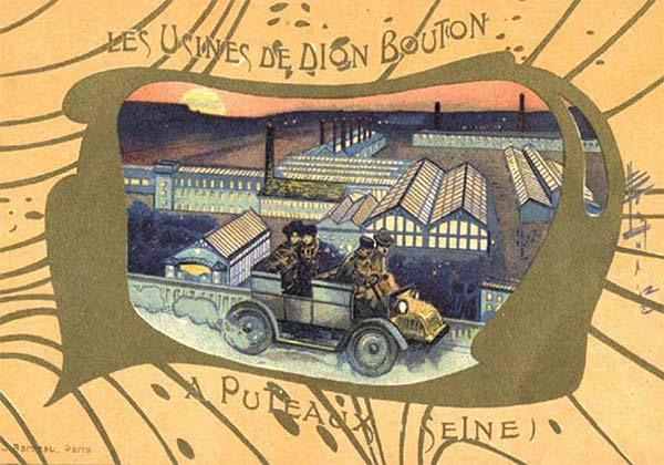 Carte de dion bouton reference